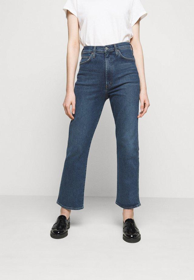 SOUND PINCHE WAIST - Straight leg jeans - medium indigo