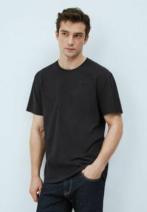 JIM - Basic T-shirt - black