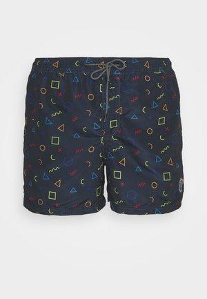 JJIBALI JJSWIMSHORTS - Swimming shorts - navy blazer