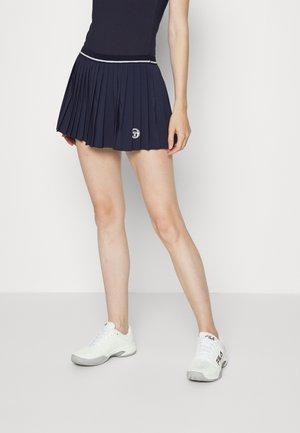 SKORT WOMAN - Sports skirt - night sky/blanc