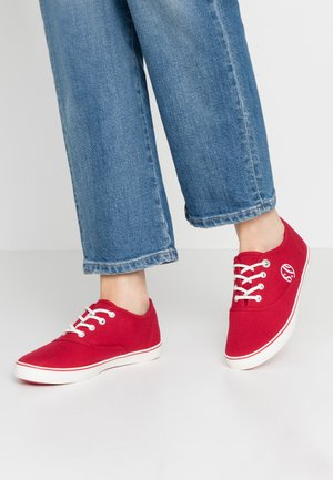 LACE-UP - Baskets basses - red