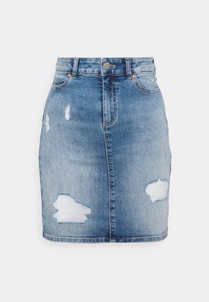 ONLBLUSH LIFE SKIRT  - Jupe en jean - medium blue denim