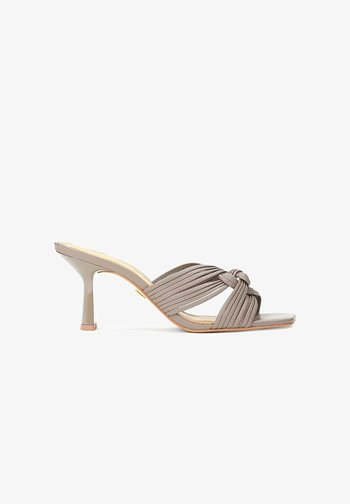 ROSALYN  - Heeled mules - taupe