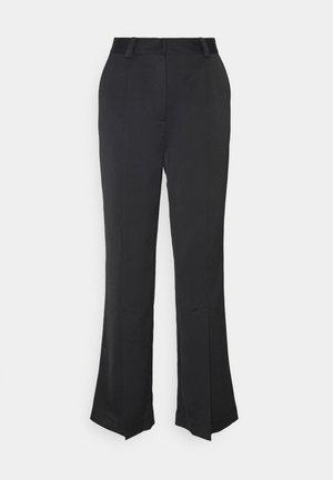 ELMACRAS PANTS - Pantalon classique - black