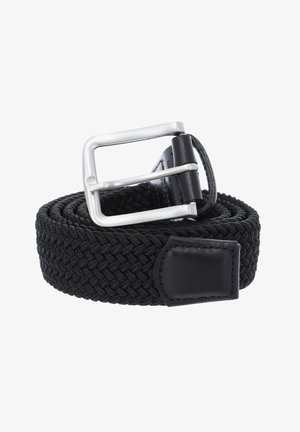 A DAY AT THE SEASIDE - Braided belt - black