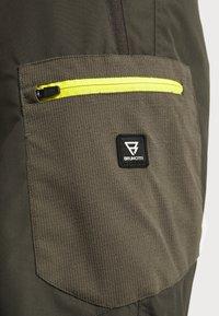 Brunotti - Zimní kalhoty - pine grey - 7