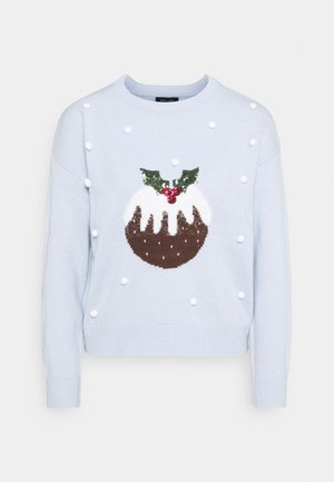 BOBBLE PUDDING JUMPER - Maglione - blue