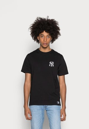 NEW YORK YANKEES SOUTHSIDE TEE - T-shirt print - jet black