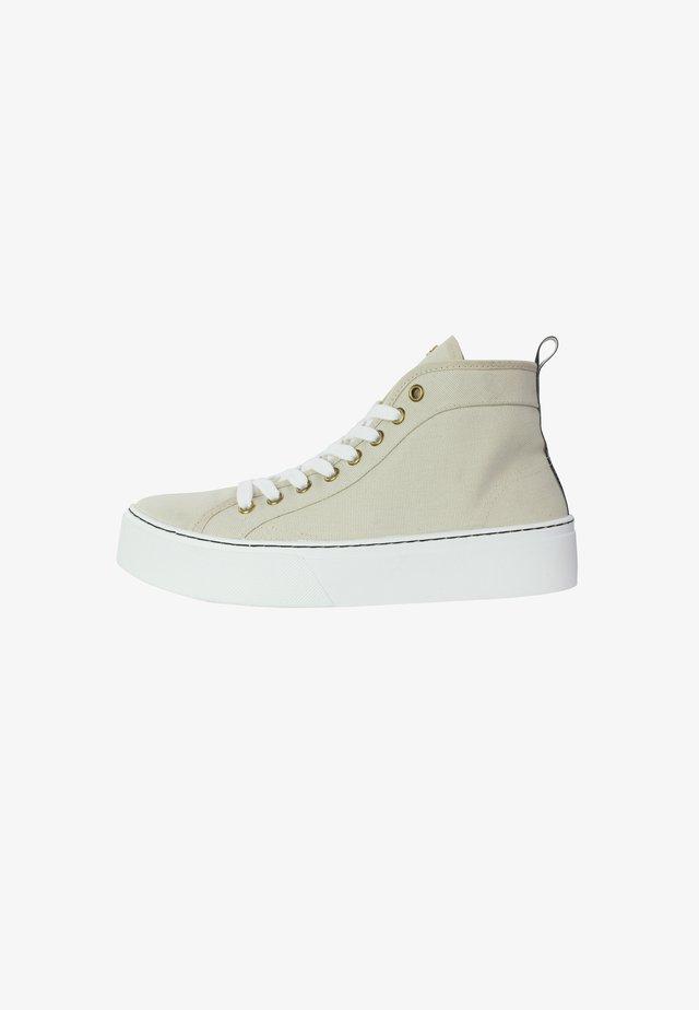 ANNIE - Sneakers hoog - sand