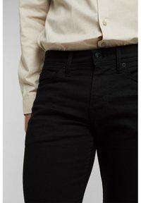 Esprit - Trousers - black rinse - 3