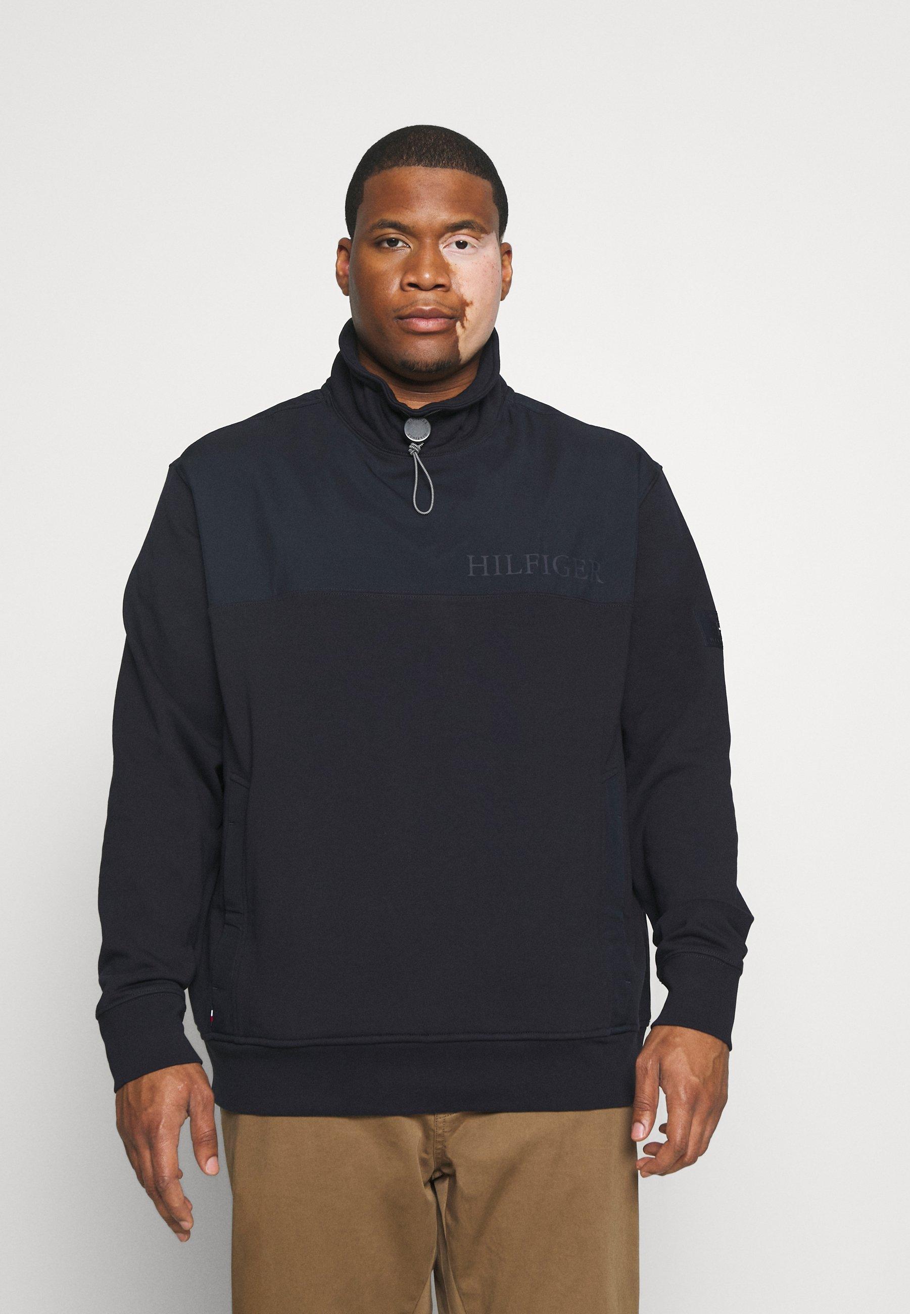 Homme UTILITY MIX MEDIA MOCK NECK - Sweatshirt