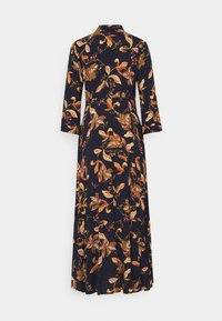 YAS - YASSAVANNA FLORA LONG DRESS - Maxi dress - black - 1