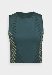 RUNWAY - Camiseta de deporte - ash green/silver