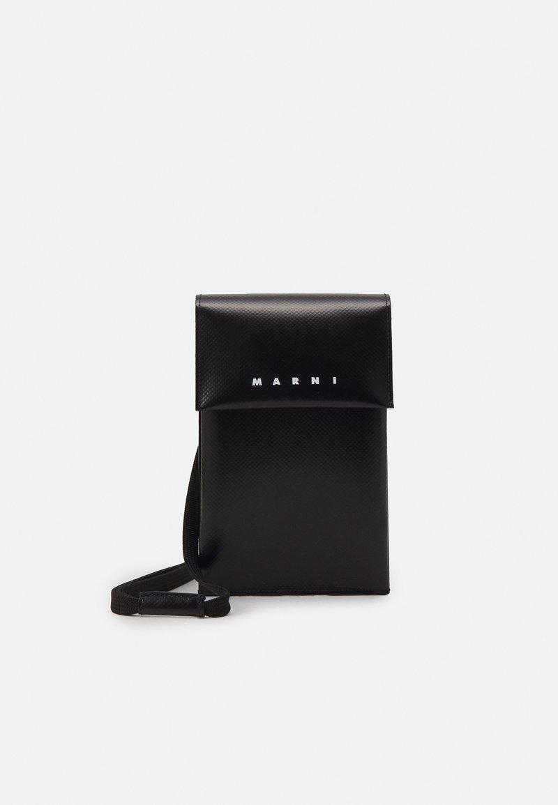 Marni - TRIBECA PHONE CASE UNISEX - Phone case - black/royal