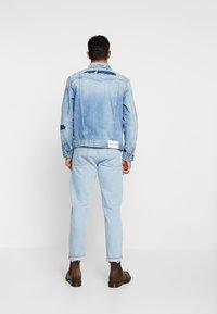 Calvin Klein Jeans - FOUNDATION SLIM JACKET - Džínová bunda - denim - 2