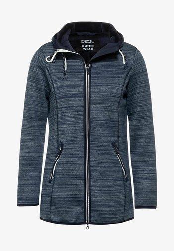 Summer jacket - denim blue heather melange