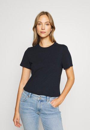 SHORT SLEEVE CREW NECK SLIM SILHOUETTE - Basic T-shirt - deep dive