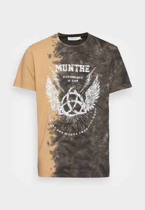 RELAXED - Print T-shirt - brown