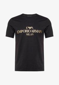 Emporio Armani - Print T-shirt - black - 4