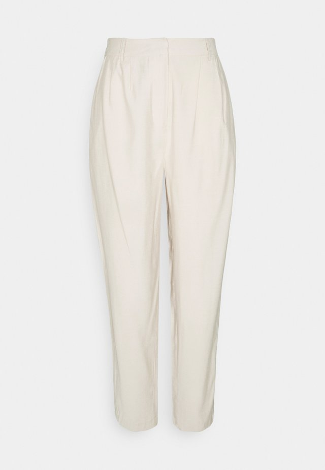 YASPERFA CROPPED PANT - Pantaloni - tapioca