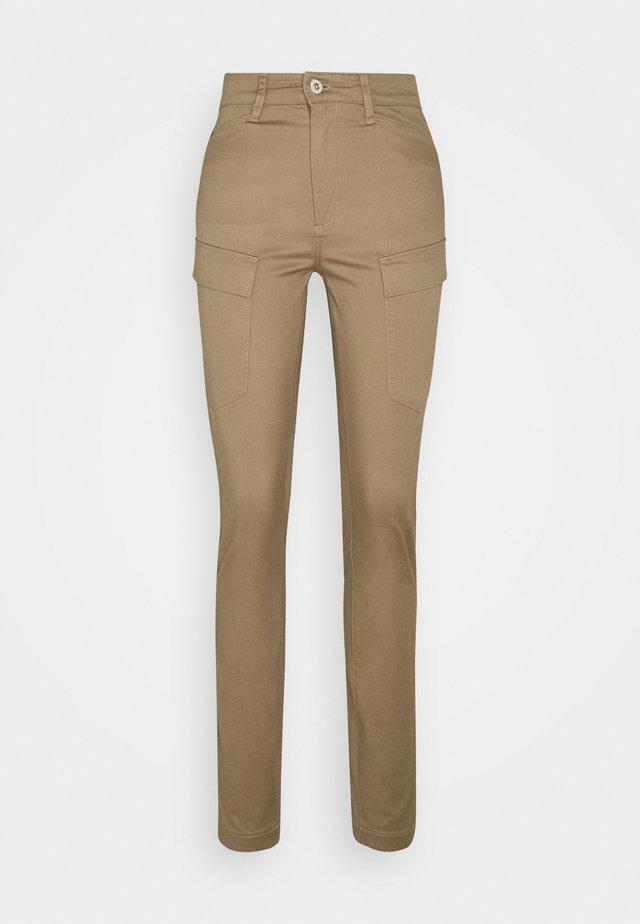 Cargo trousers - safari
