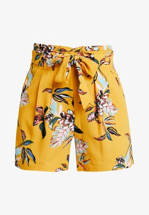 ONLPIPER PAPERBAG  - Shorts - golden yellow