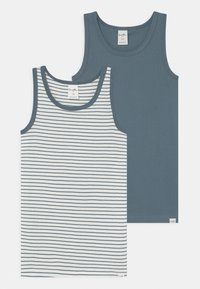 Sanetta - PURE MINI 2 PACK - Undershirt - faded blue - 0