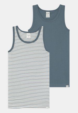 PURE MINI 2 PACK - Undershirt - faded blue