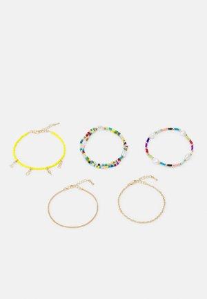FGVICKY BRACELET 5 PACK - Armband - gold-coloured/multi