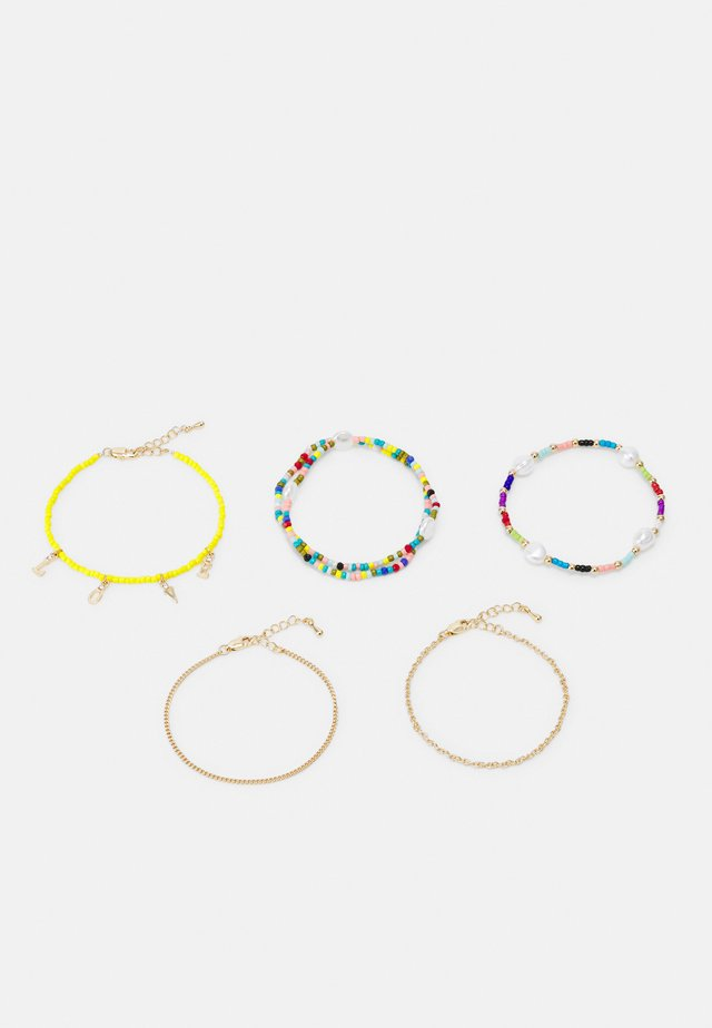 FGVICKY BRACELET 5 PACK - Armbånd - gold-coloured/multi
