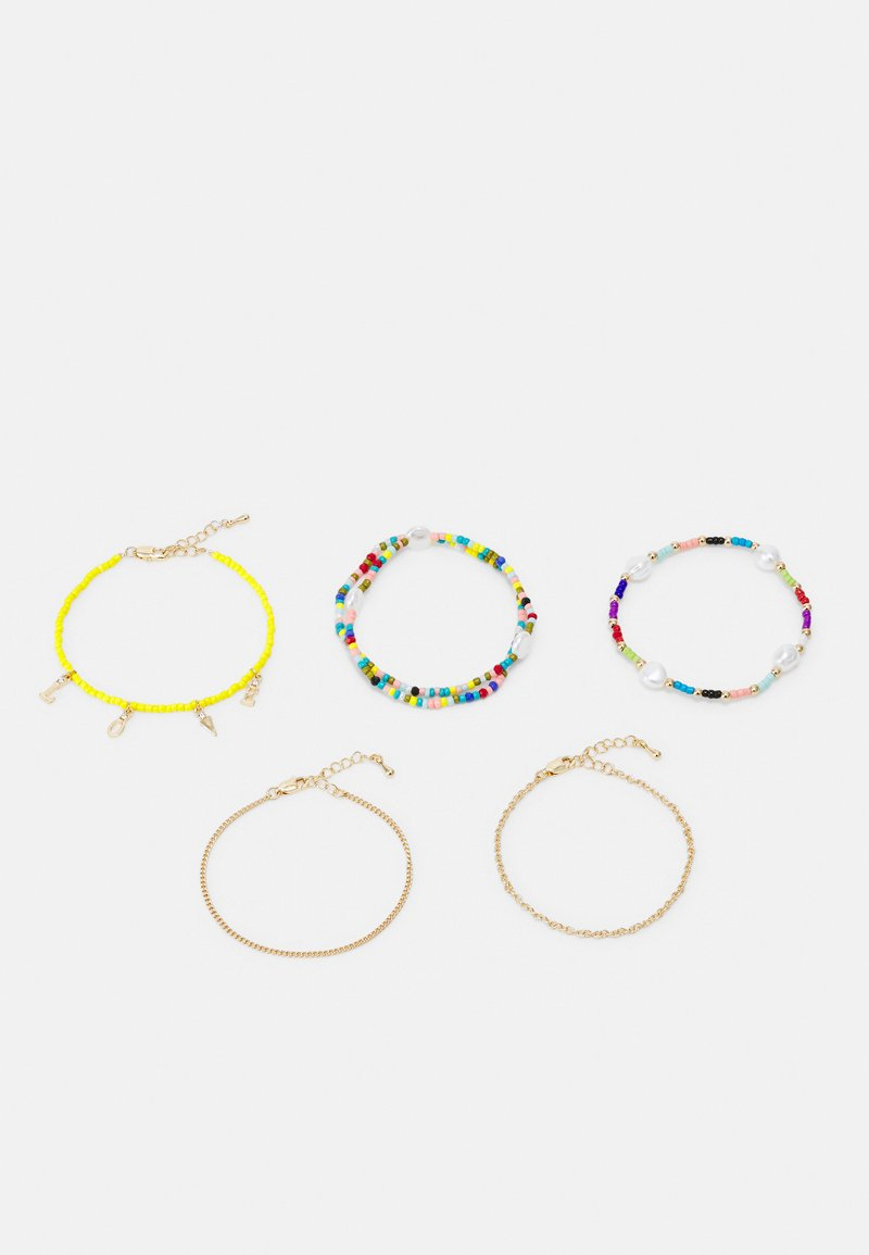 Fire & Glory - FGVICKY BRACELET 5 PACK - Bracelet - gold-coloured/multi