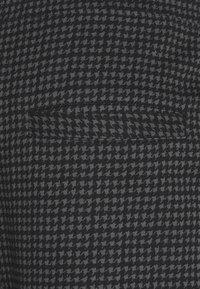 Nominal - MINI CHECK TROUSER - Trousers - black - 5