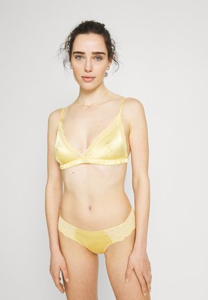 AGATA BRA LINDA BRIEF - Triangle bra - yellow