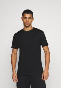 Denim Project - 5 PACK  - T-shirt basic - black/white - 3