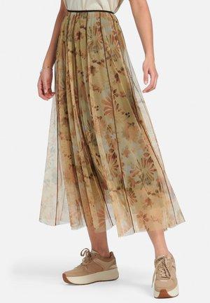 A-line skirt - pfirsich