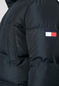Tommy Hilfiger - HOODED - Down coat - black - 4
