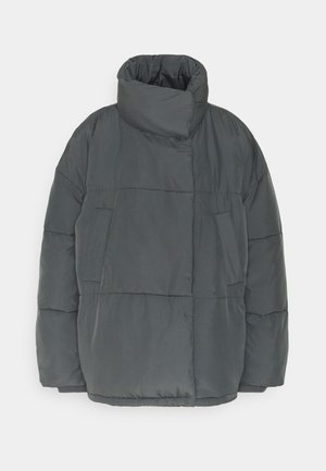 WRAP PUFFER - Winter jacket - charcoal