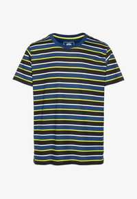 JCORELIEF TEE CREW NECK - T-shirt med print - navy peony