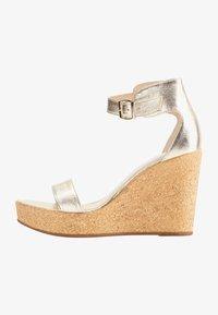 IZIA - High heeled sandals - gold - 1