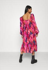 Never Fully Dressed - RAINBOW TILES MIDI DRESS - Day dress - multi - 2