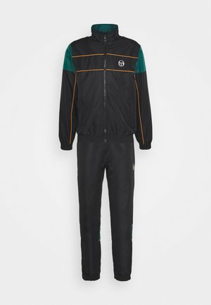 BERRY TRACKSUIT - Survêtement - black/botanical