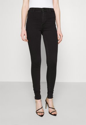 ONLBLUSH LIFE BOX - Jeans Skinny Fit - black denim