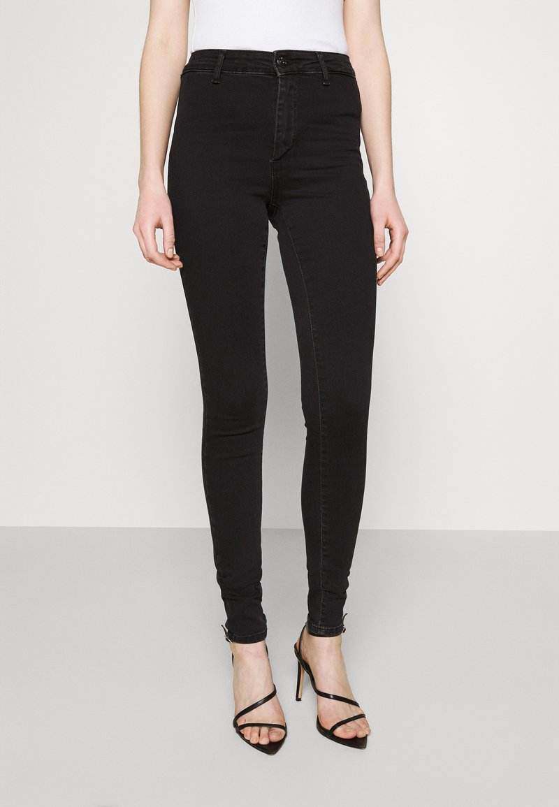 ONLY - ONLBLUSH LIFE BOX - Jeans Skinny Fit - black denim