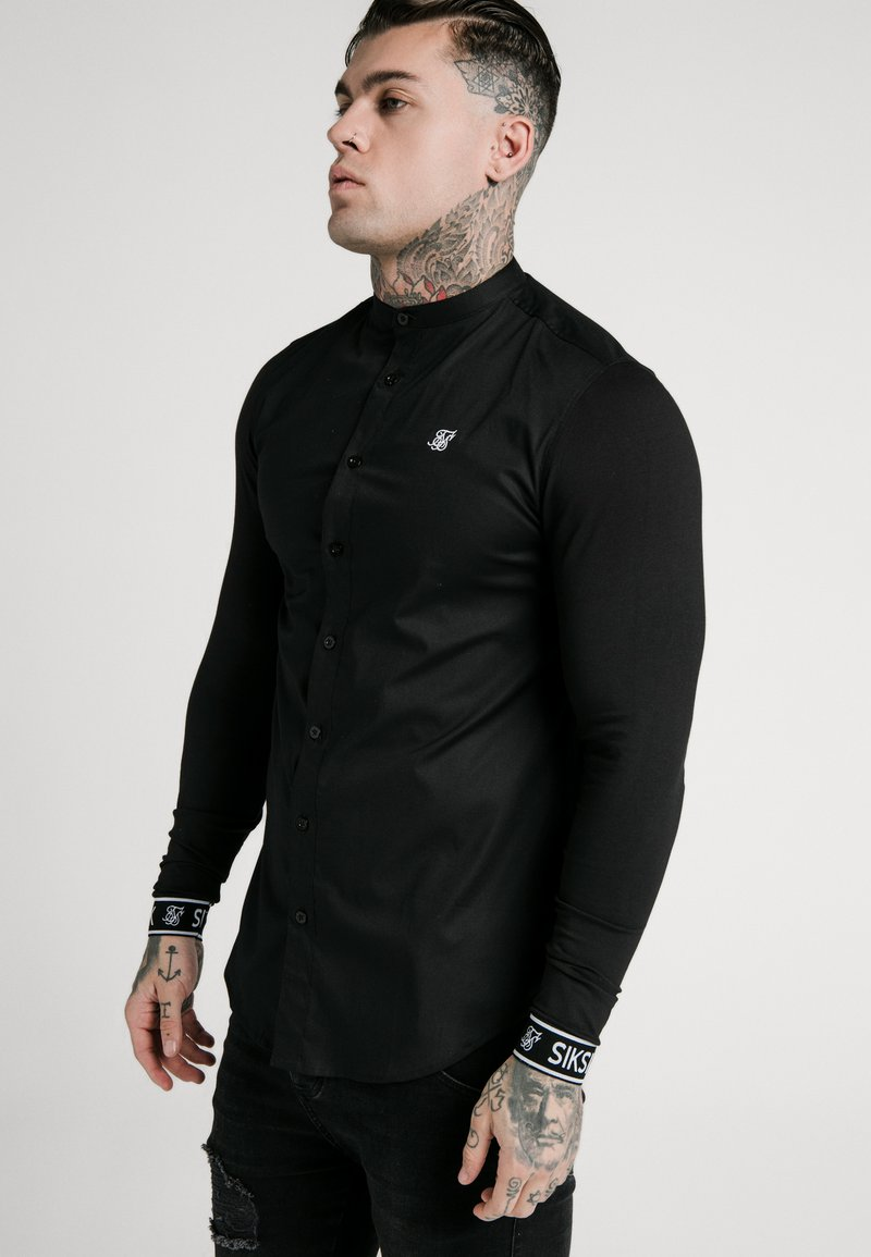 SIKSILK - TECH CUFF - Shirt - black