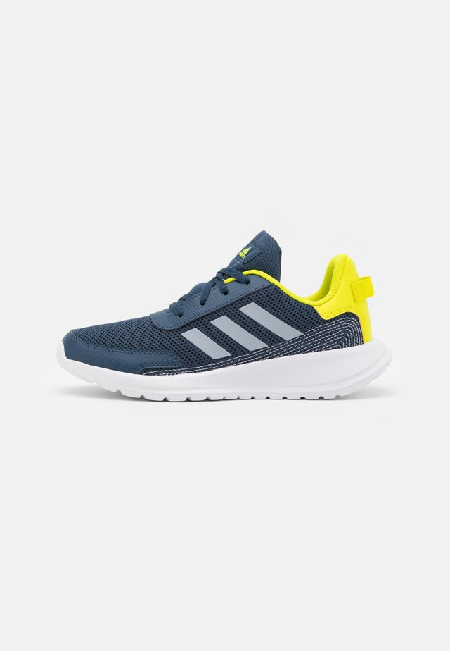 TENSAUR RUN UNISEX - Scarpe running neutre - crew navy/halo silver/acid yellow