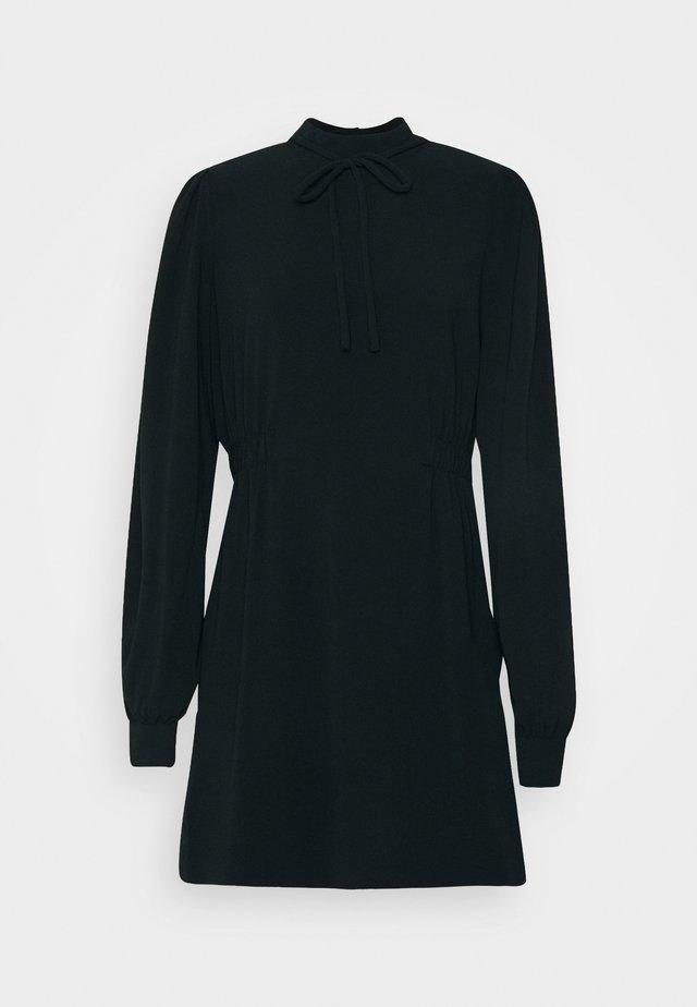 PRISILLA - Day dress - anthracite black