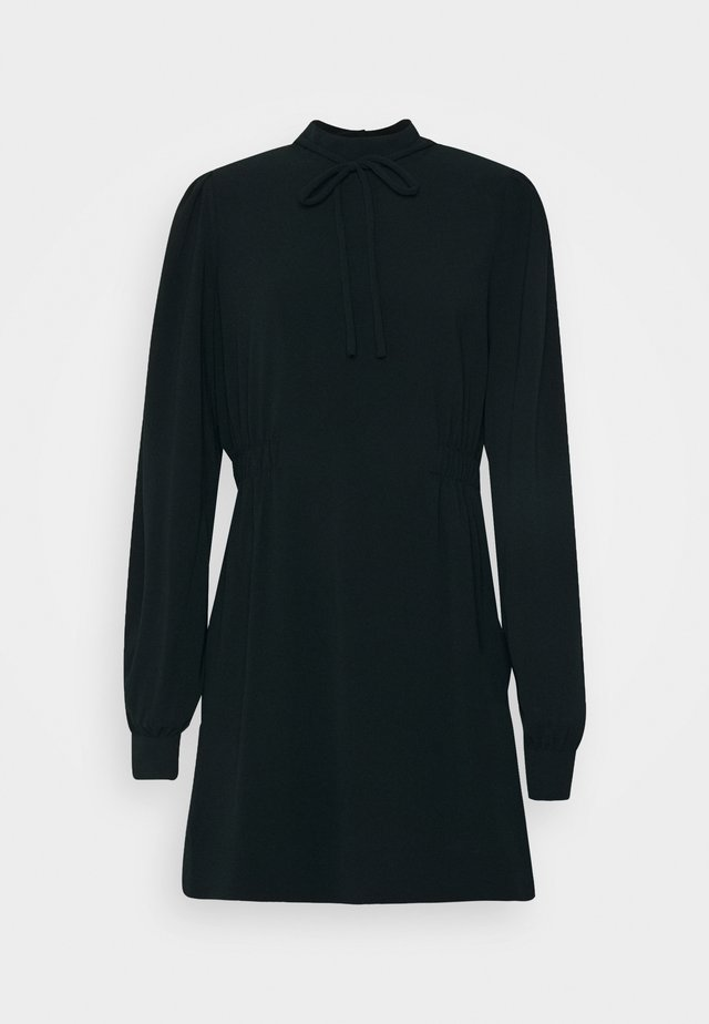 PRISILLA - Korte jurk - anthracite black