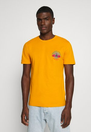 UNISEX - Print T-shirt - yellow