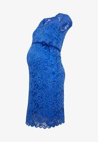 MAMALICIOUS - MLNEWMIVANA CAP DRESS - Vestido de cóctel - dazzling blue - 5