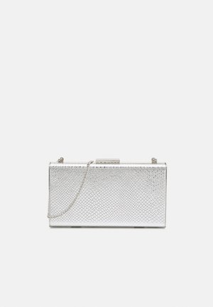 BOX BAG  - Pochette - silver-coloured